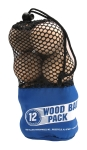 WoodBall 12pack