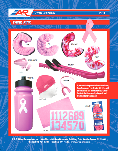 A&R Sports Accessories Breast Cancer Awareness products catalog